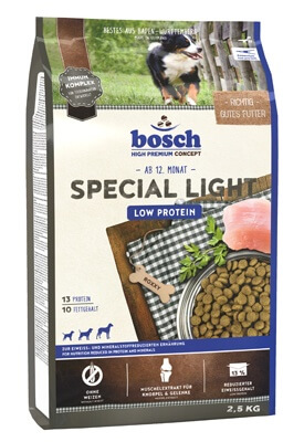 BOSCH SPECIAL LIGHT корм для собак Бош Спешл Лайт 2,5 кг