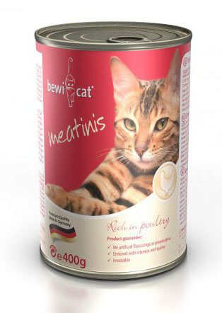 Bewi Cat Meatinis Poultry консервы для кошек