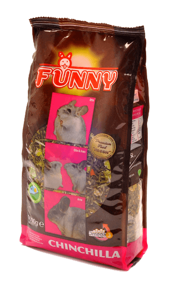 Корм для шиншилл Funny chinchilla Premium 1кг