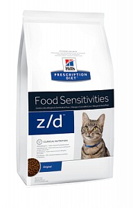 Hill`s Prescription Diet Feline z /d гипоаллергенный корм для кошек 2кг